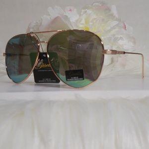 Accessories - Giselle Avant Ladies Octagonal Polished Aviator